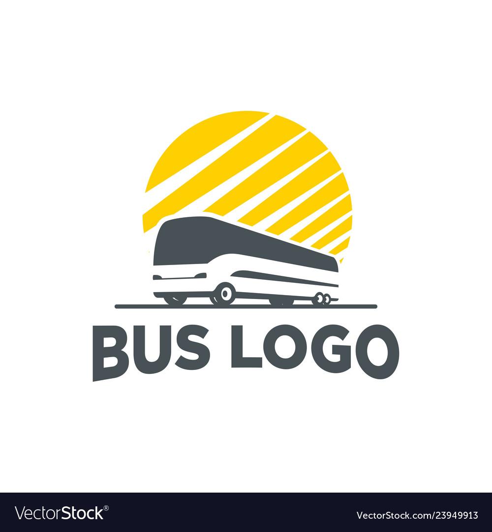 Logo bus silhouette