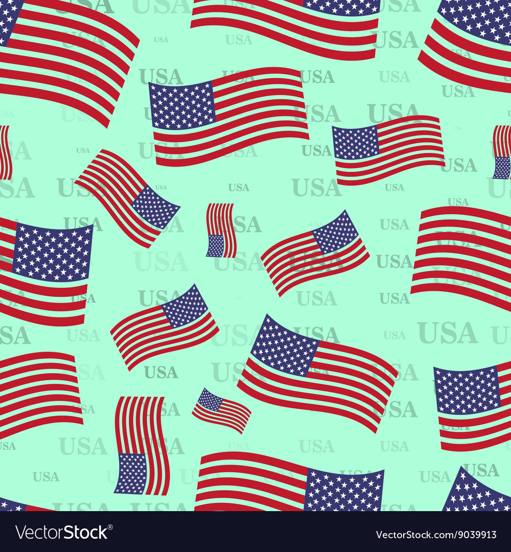 Seamless texture USA flag bright country nation