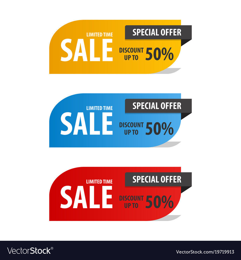 Special offer sale banner for your design