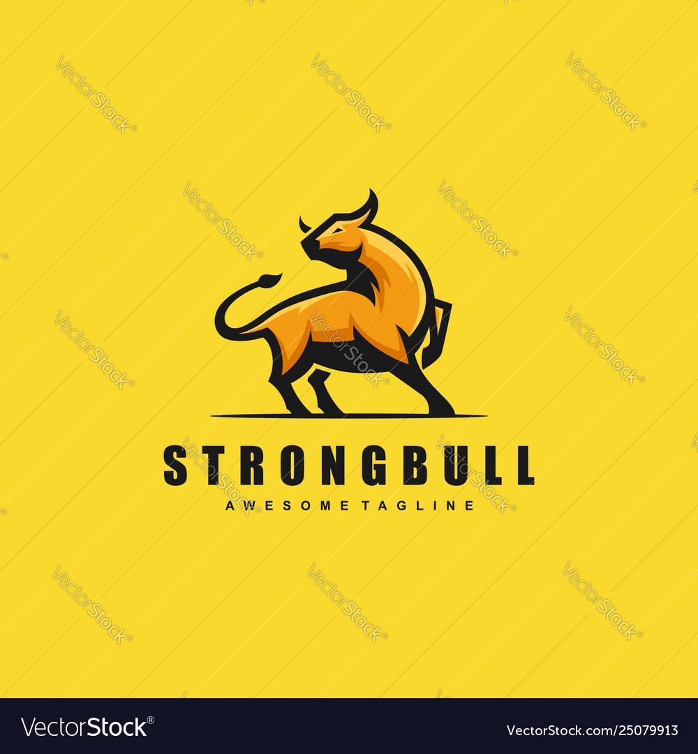 Strong bull concept template
