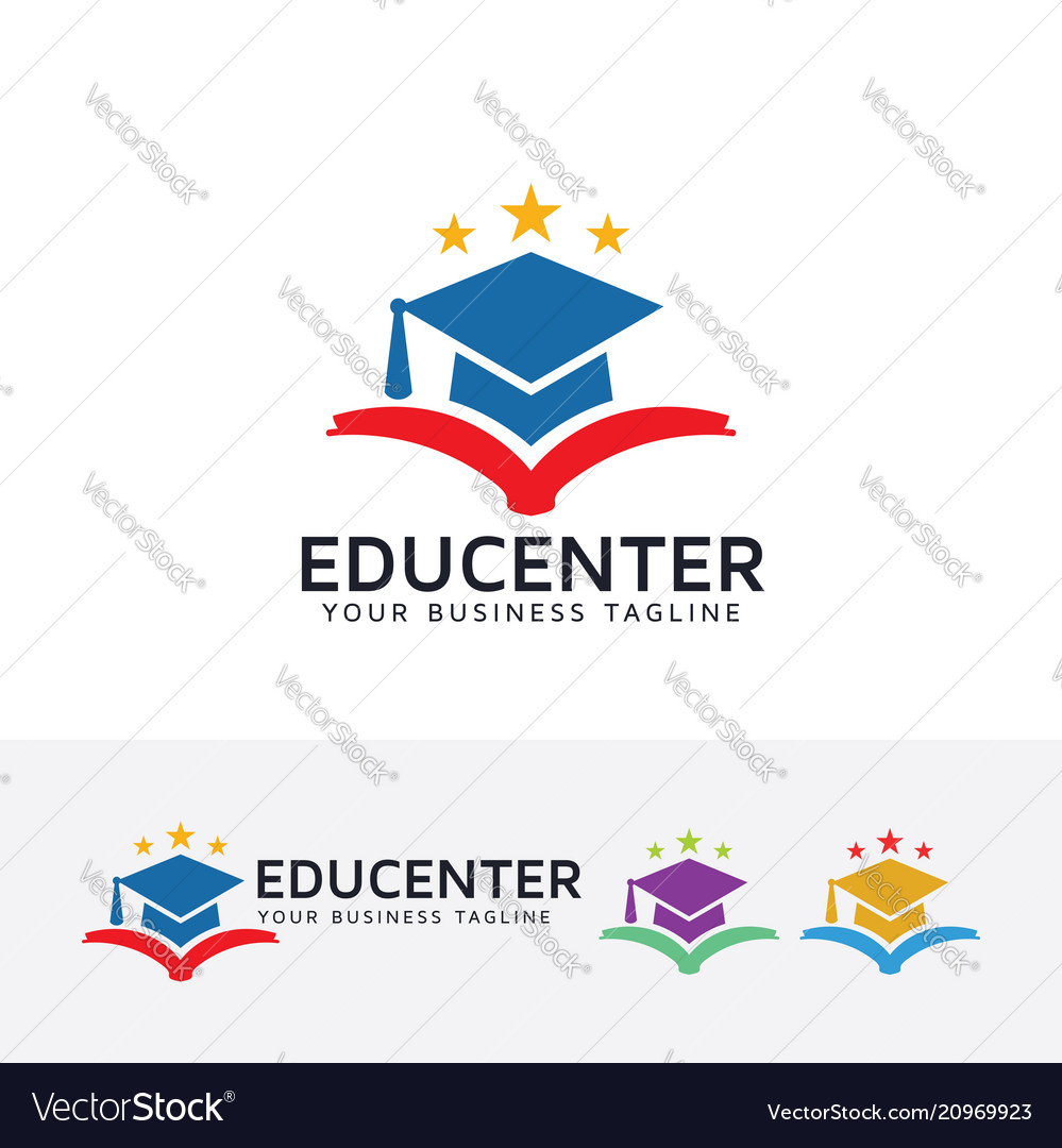 Education center logo design