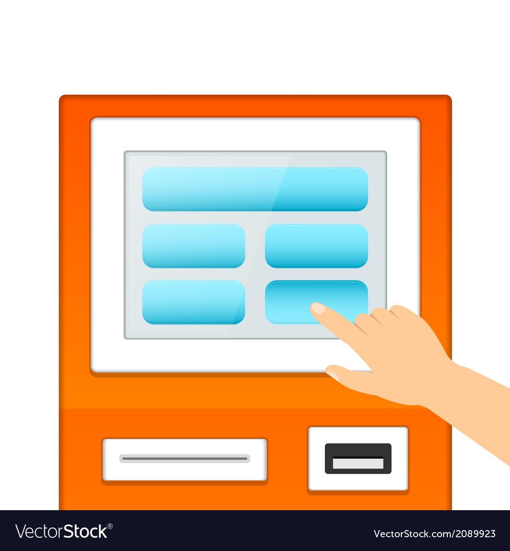 Informational terminal monitor