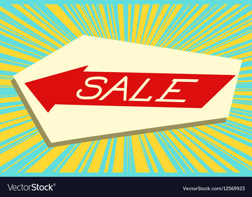 Sign pointer sale