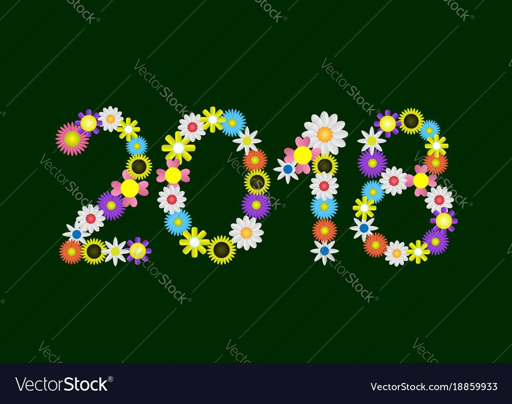 2018 flower numbers