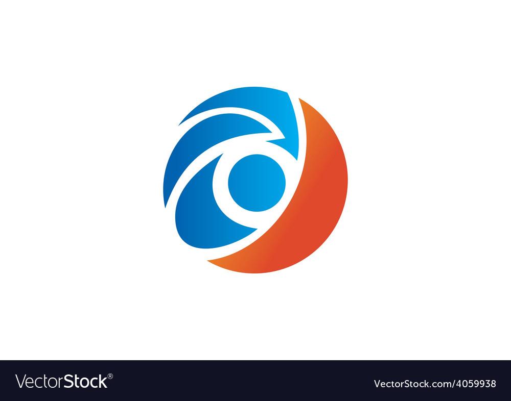 Eye symbol video logo