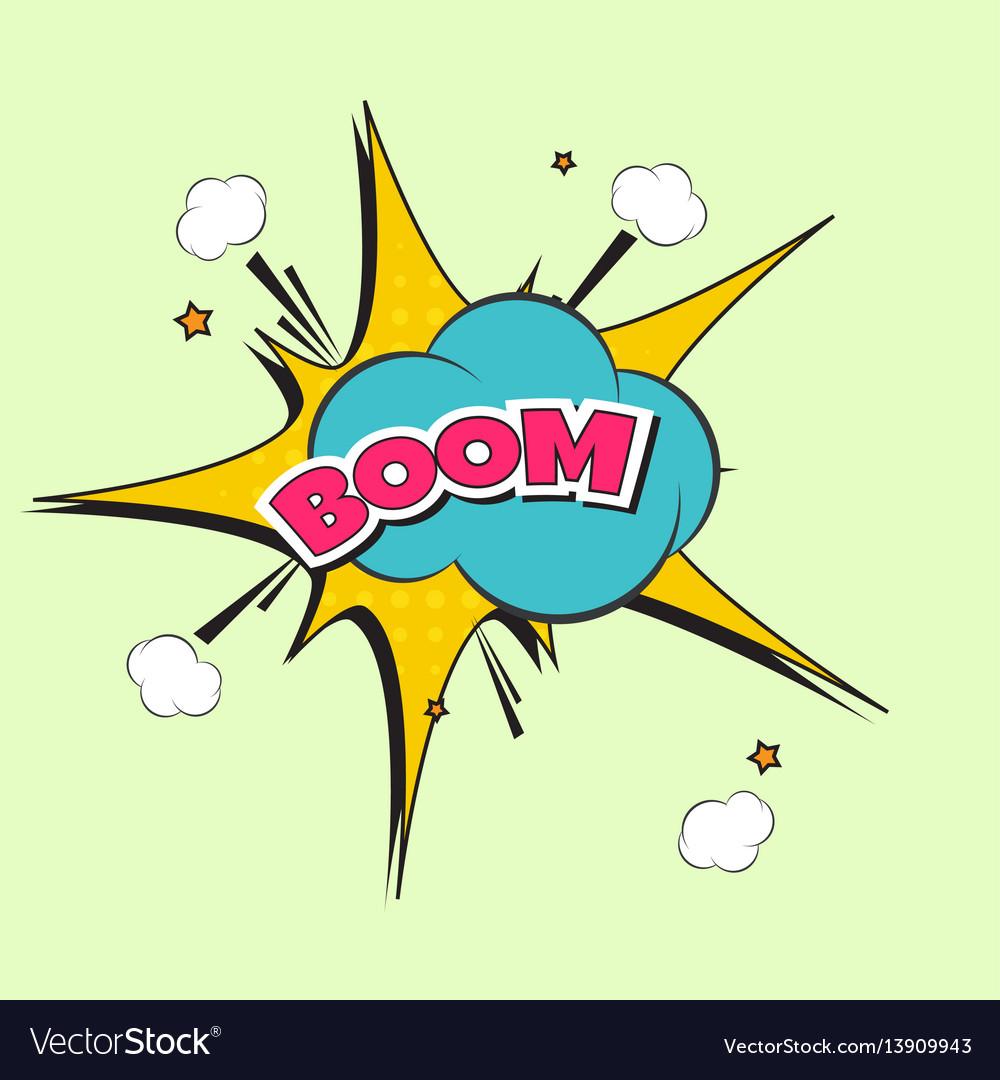 Lettering boom bomb