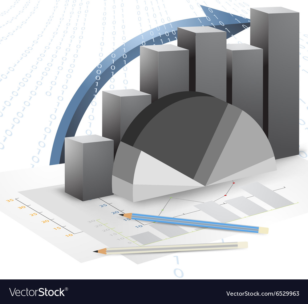 Business and bar graph