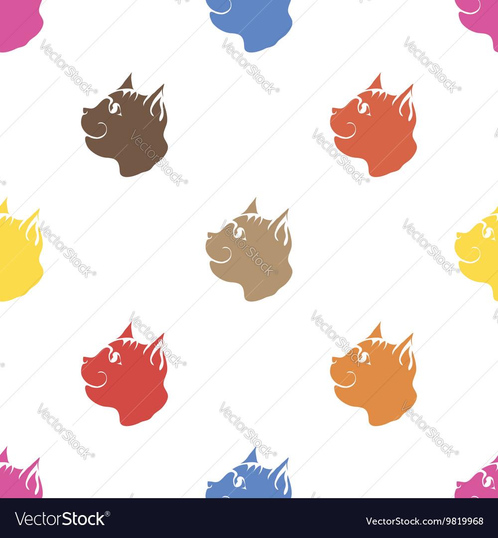 Cat Seamless Animal Pattern