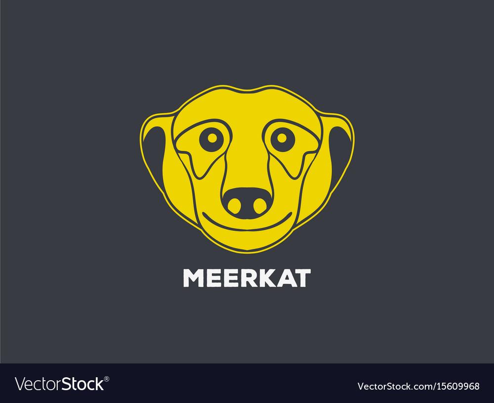 Meerkat logo icon design