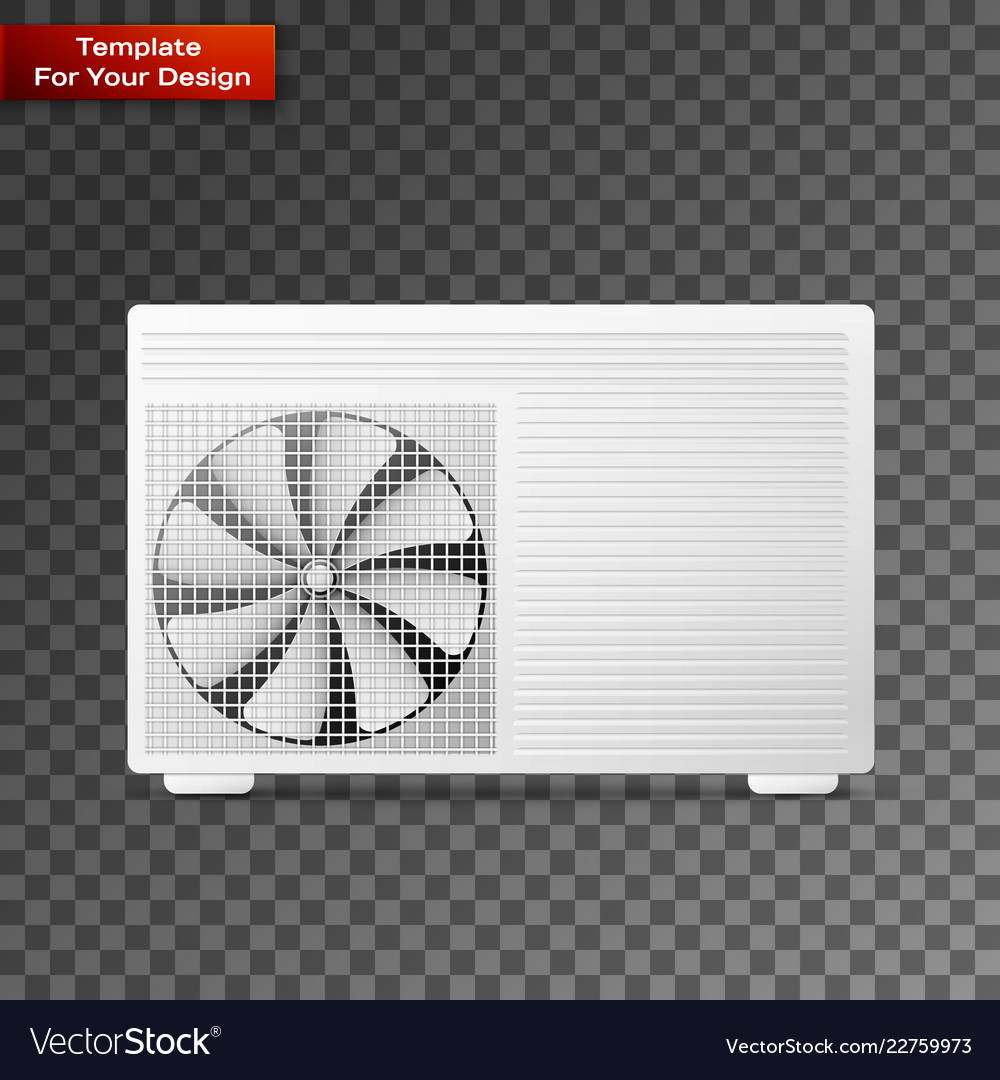 Air conditioner linear icon