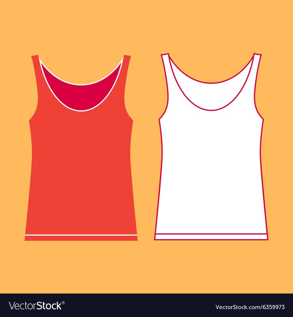 vest template royalty free vector image vectorstock