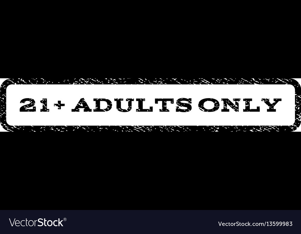 21 plus adults only watermark stamp