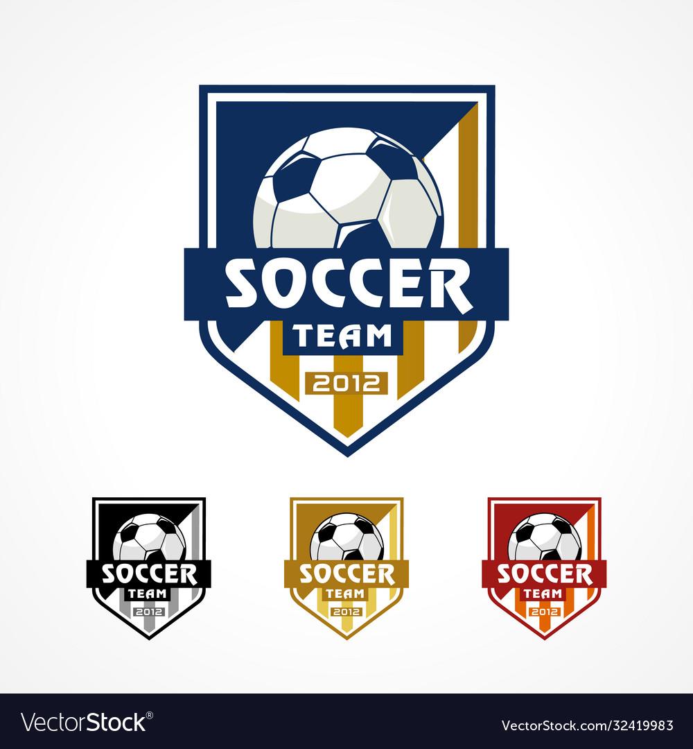 Football team academy logo