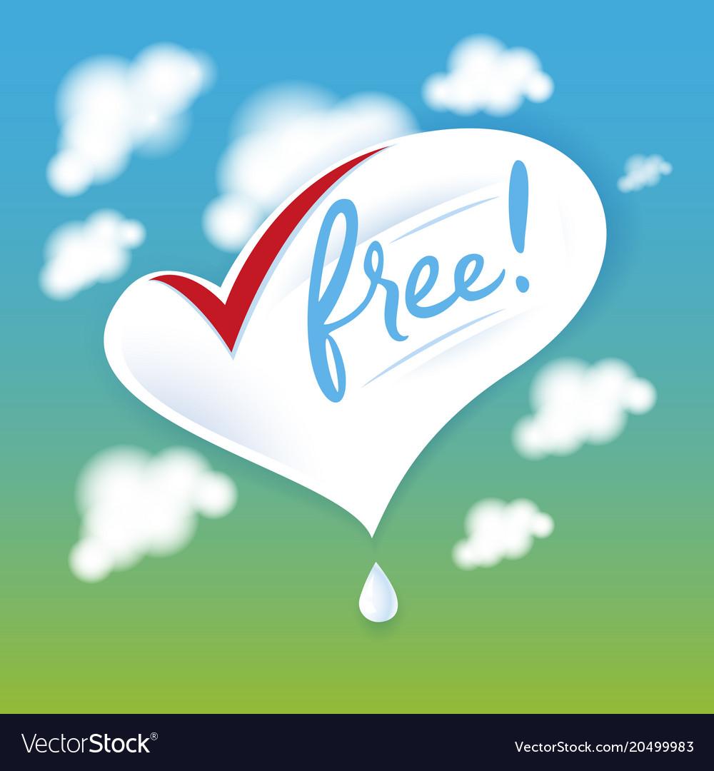 Lactose free natural fresh milk splash logo heart