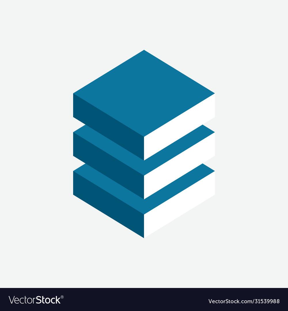 Internet data center logo software backup emblem