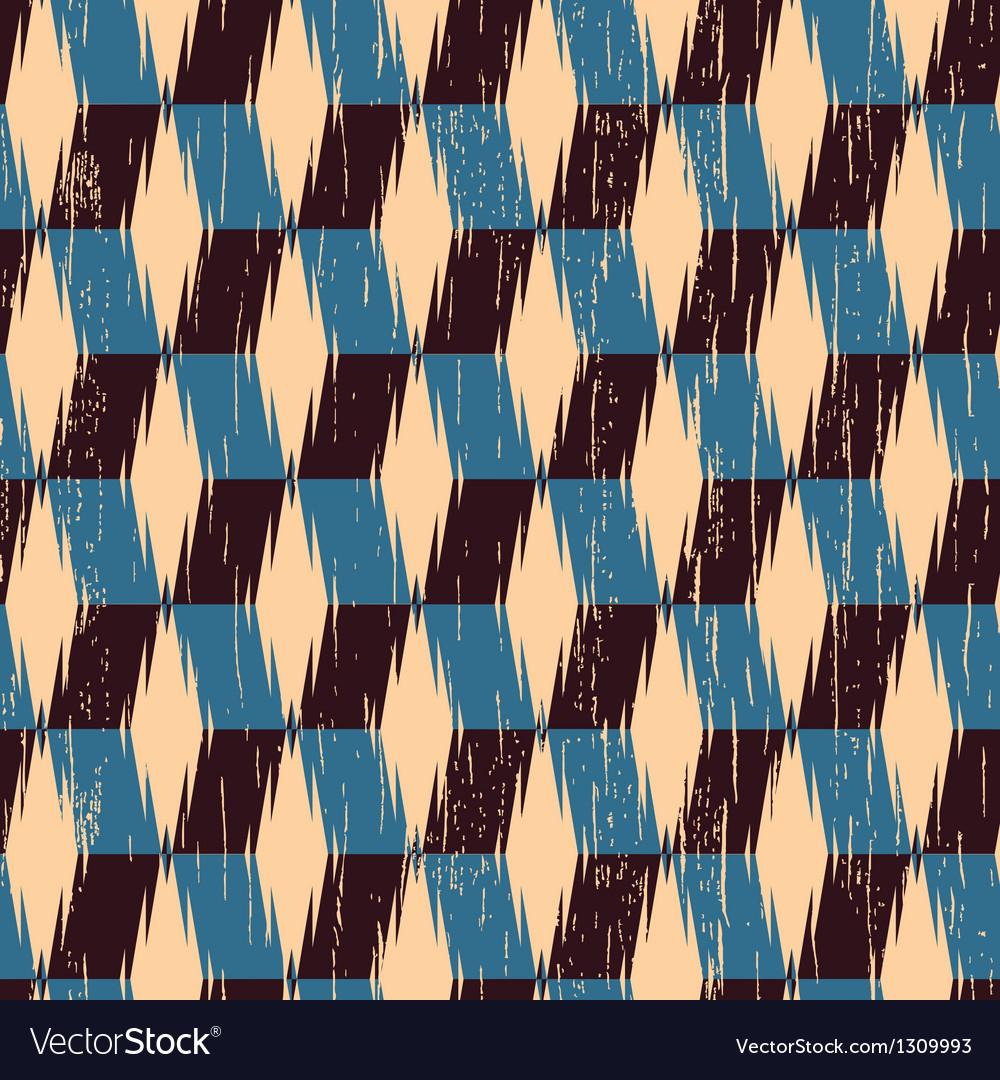 Rhombus print