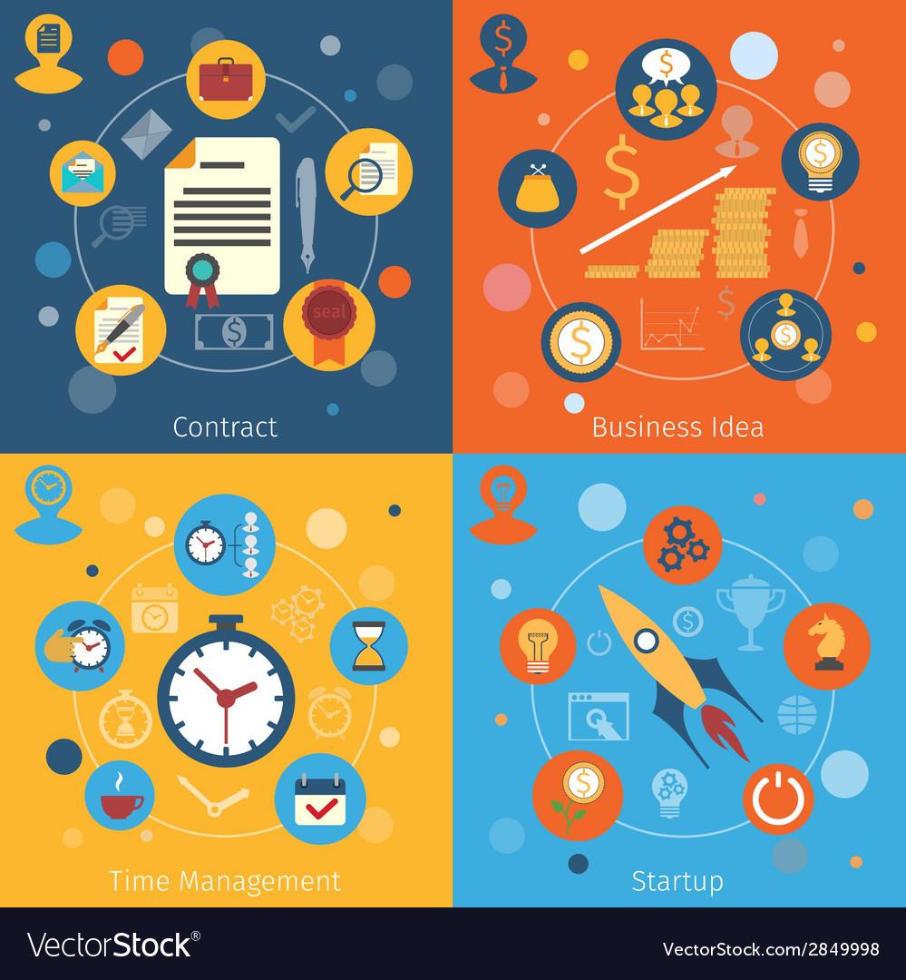 Modern web concepts set