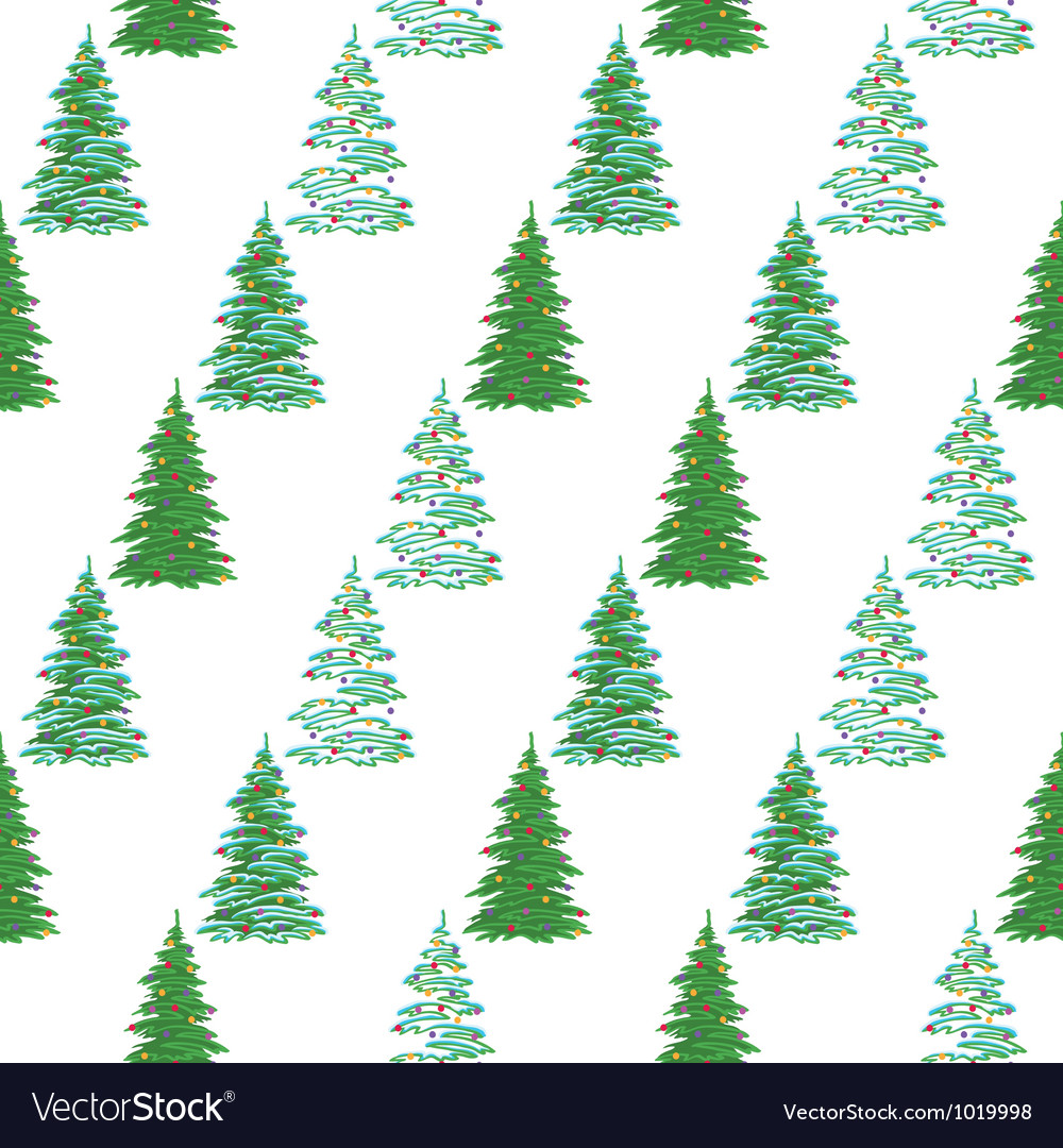 Christmas Tree Backgrounds.Seamless Background Christmas Trees