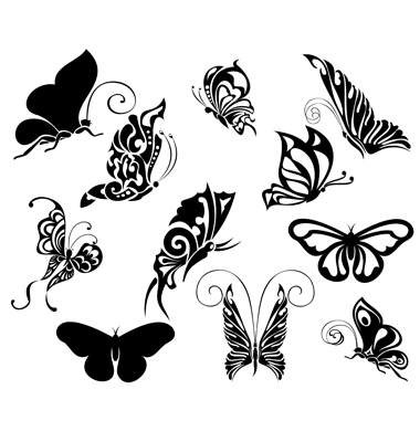 butterfly temporary tattoos butterfly temporary tattoos paper clip necklace