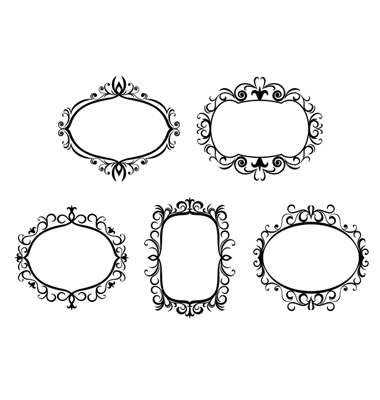 clipart picture frames. clip art borders frames.