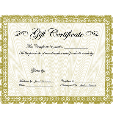 Gift Certificate Template. Gift certificate template Free