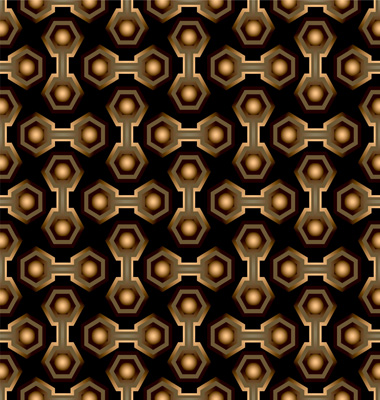 hexagon beehive pattern