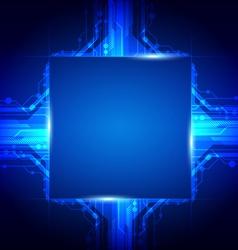 processor technology vector image
