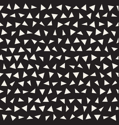 trendy texture with scattered geometric shapes vector image vector image