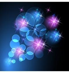 abstract starlight design vector image