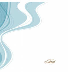 abstract background with waves vector image