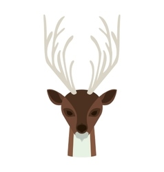 Deer animal cartoon vector