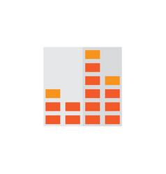 Frequency flat icon symbol premium quality vector