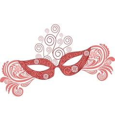 Mask pattern vector image