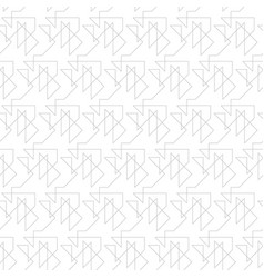 seamless geometric pattern made straight vector image