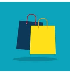 Shopping Bag Design Icon vector