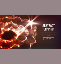 technological sense abstract vector image vector image