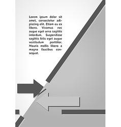 Two arrows symbol dark infographics vector