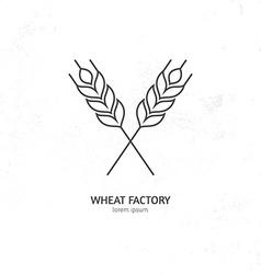 Wheat Logo vector