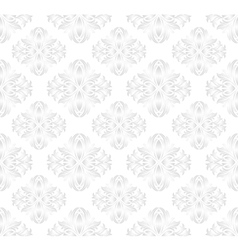 white pattern vector image vector image