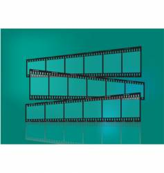 traditional film strip vector image