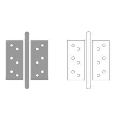 accessories for door icon vector image