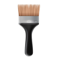 Big brush icon realistic style vector