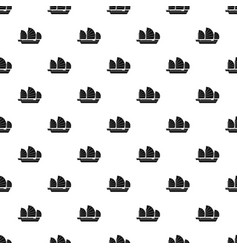 China ship pattern seamless vector