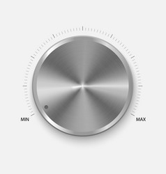 dial knob vector image