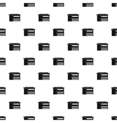 High barn pattern simple style vector