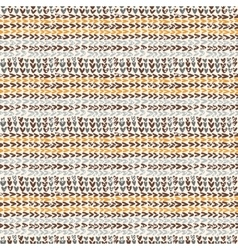 Knitted texture in the brown color scheme vector image