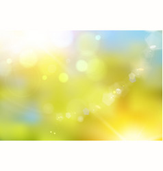 nature color background spring eco background vector image