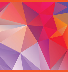Polygonal square background purple violet hot pink vector