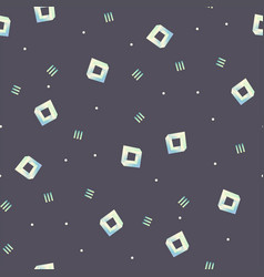 Seamless pattern with impossible figures vector