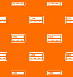 login and password pattern seamless vector image vector image